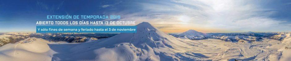 Fin temporada nieve Corralco 2019