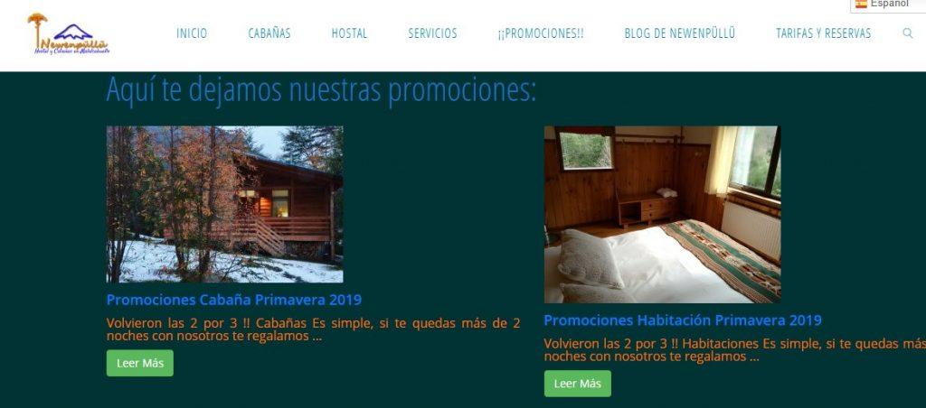 Promo primavera Araucanía Andina